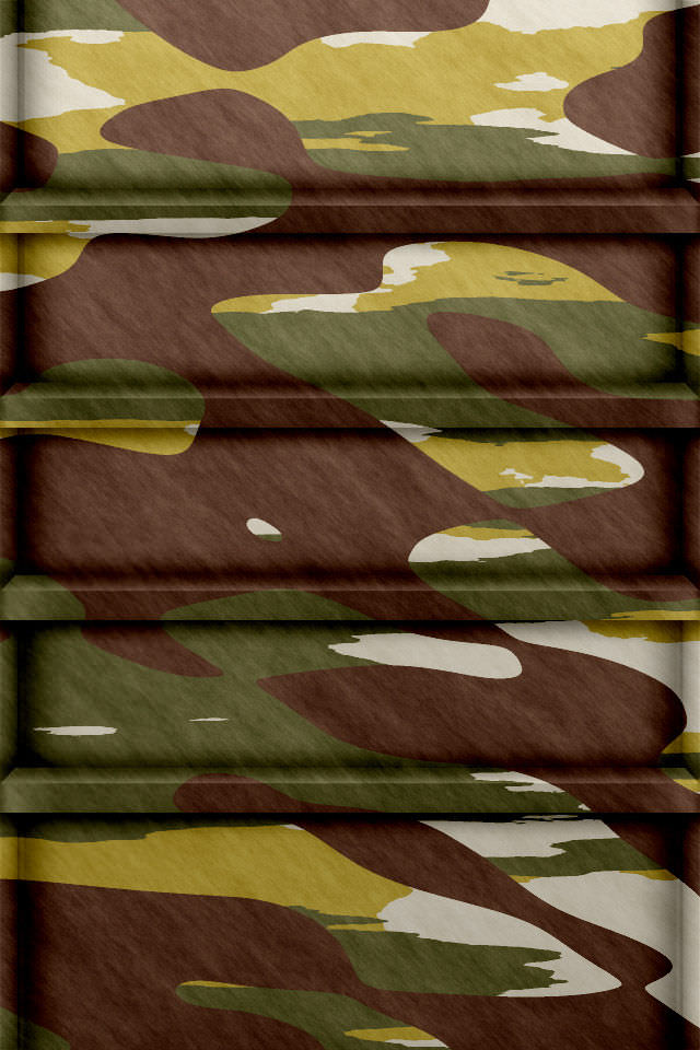 迷彩色の棚 スマホ用壁紙(iPhone用/640×960)