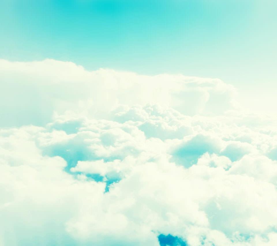 透き通るような青空 Androidスマホ用壁紙