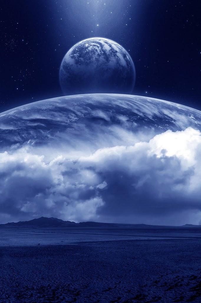 綺麗な地球 iPhoneスマホ用壁紙