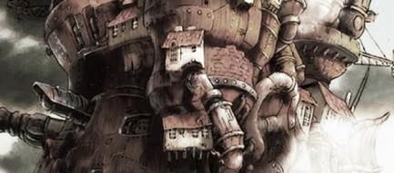 ハウルの動く城 iPhoneスマホ用壁紙