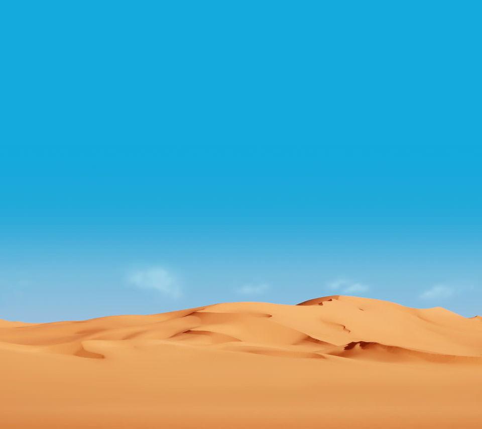 タクラマカン砂漠 Androidスマホ用壁紙