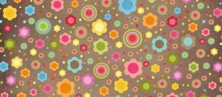 かわいい花柄 Androidスマホ用壁紙