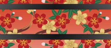 和風のスマホ用壁紙(iPhone用/640×960)