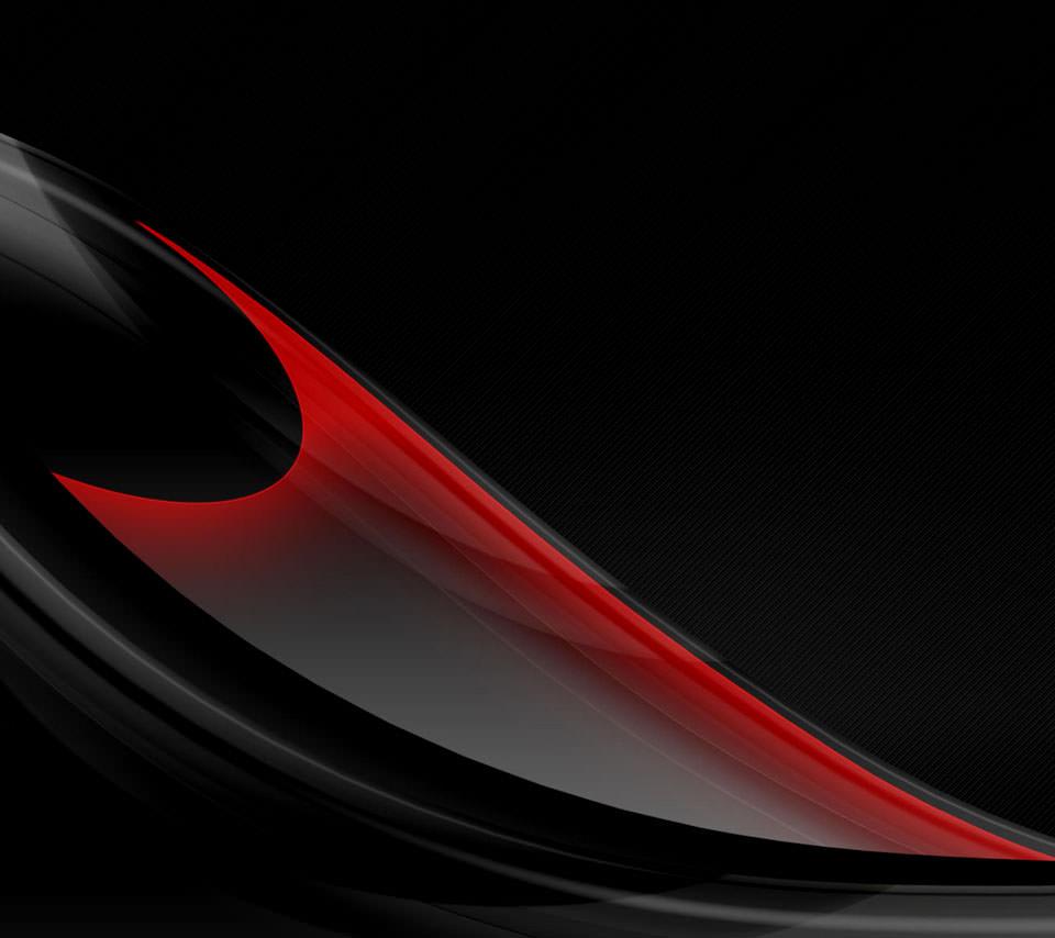 黒と赤 Androidスマホ用壁紙