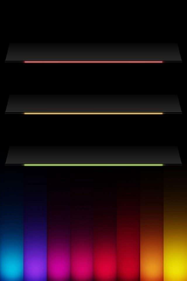 綺麗なグラデーション iPhoneスマホ用壁紙