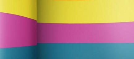 カラフルボーダー iPhoneスマホ用壁紙