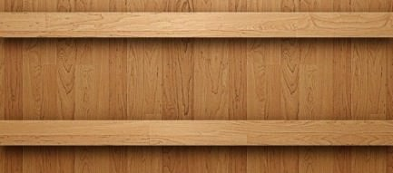 シンプルな木目 iPhoneスマホ用壁紙