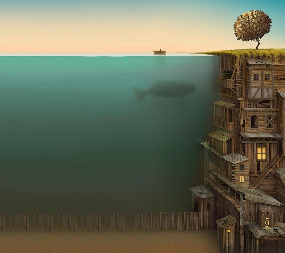 海の主 Androidスマホ用壁紙