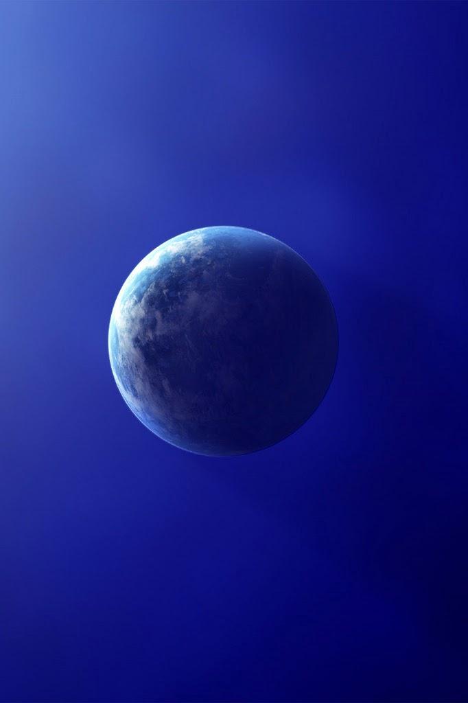 地球 iPhoneスマホ用壁紙
