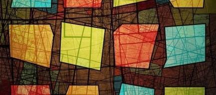 オシャレなステンドグラス調 スマホ用壁紙(iPhone用/640×960)