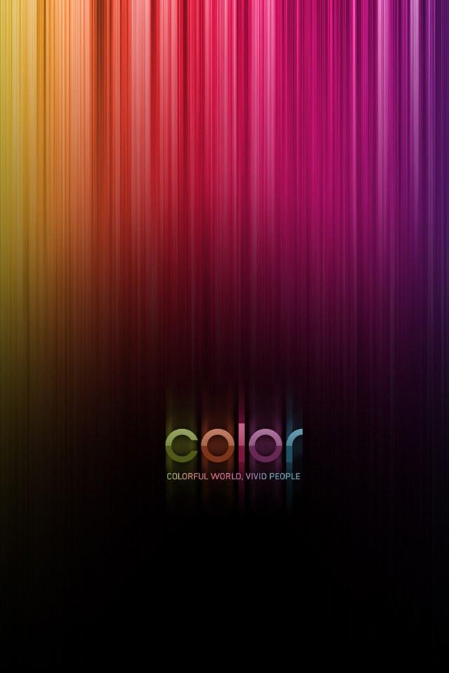 Color iPhoneスマホ用壁紙