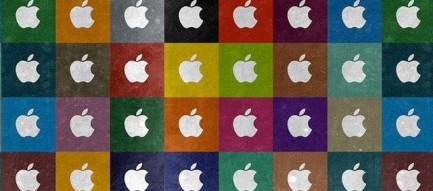 カラフルなロゴ iPhoneスマホ用壁紙