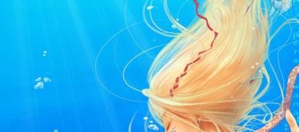 人魚姫 iPhoneスマホ用壁紙