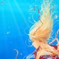 綺麗な人魚 iPhoneスマホ用壁紙