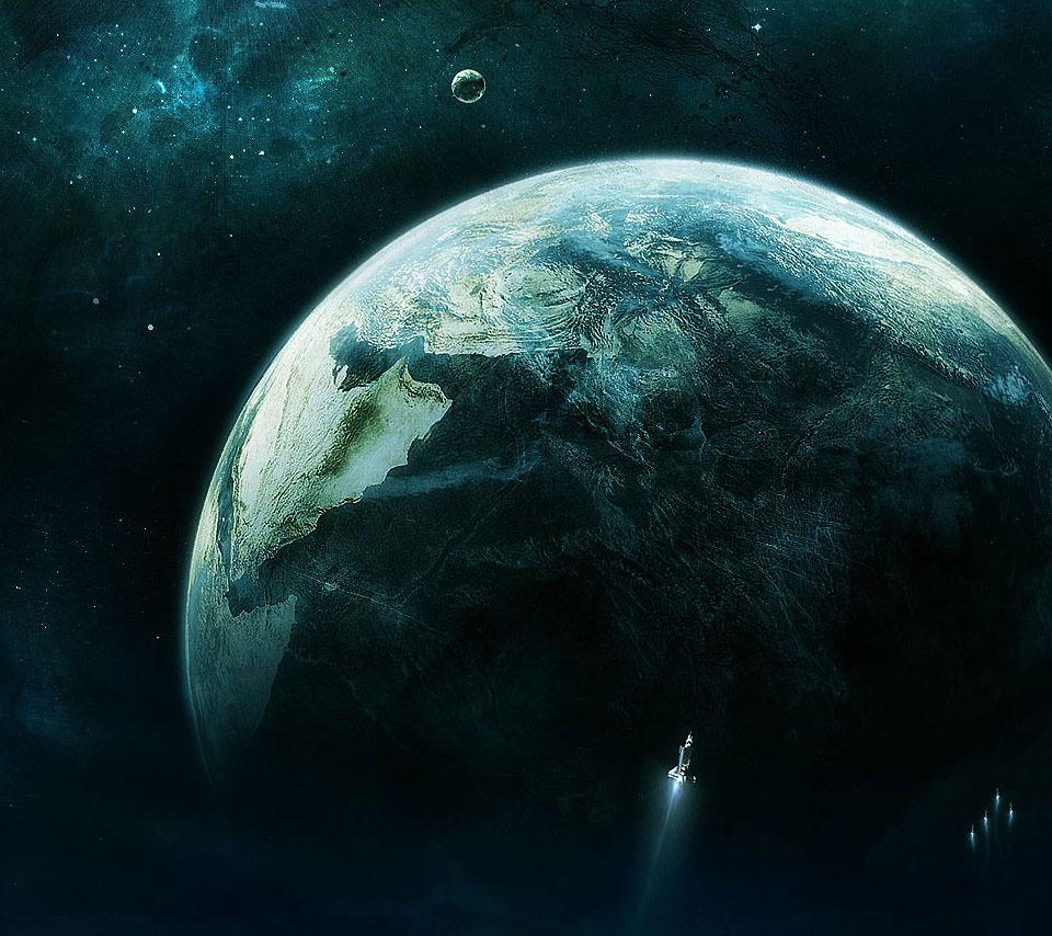宇宙旅行 Androidスマホ用壁紙