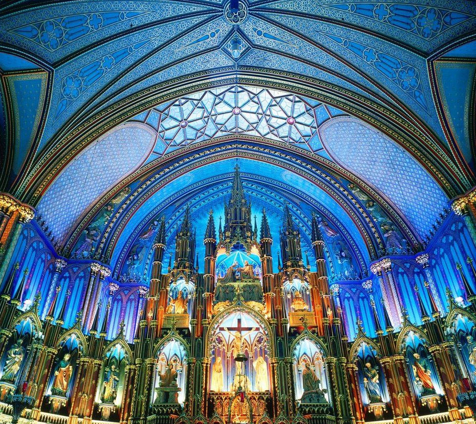 荘厳な大聖堂 Androidスマホ用壁紙