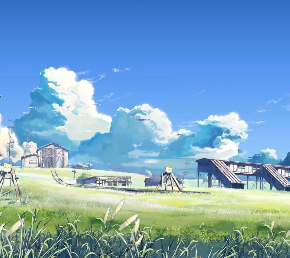 田舎の風景 Androidスマホ用壁紙
