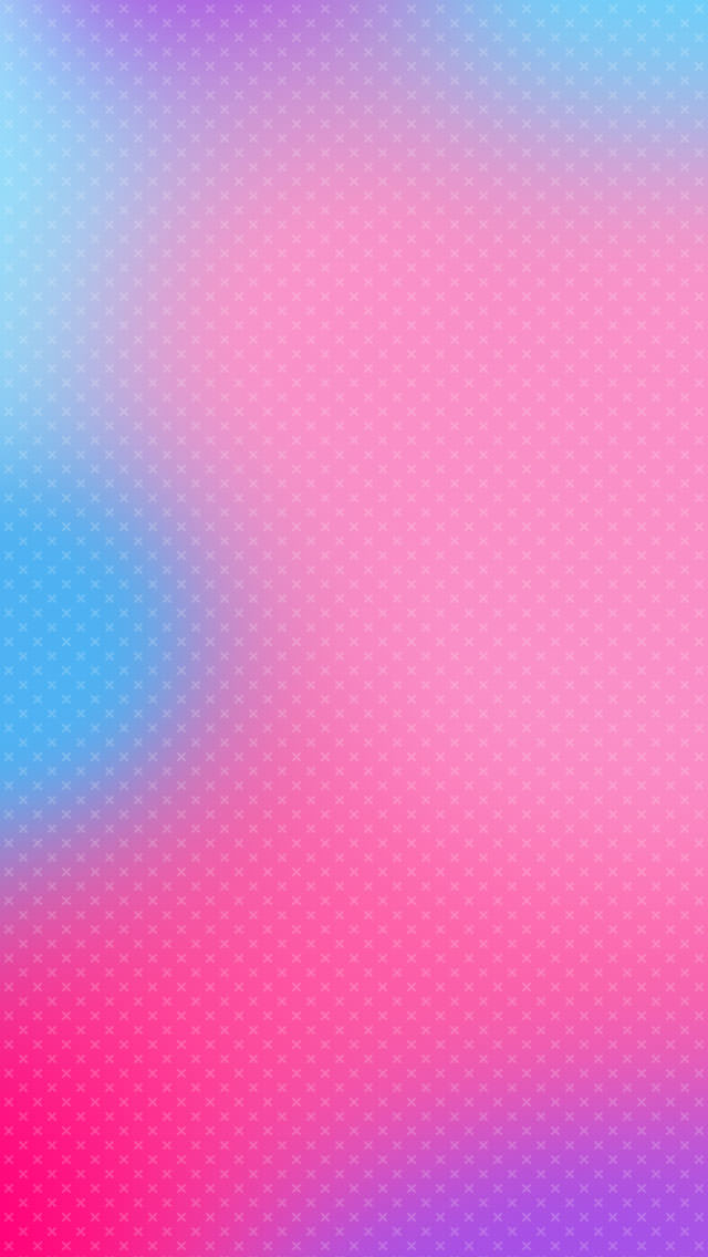 淡いピンク・ブルー iPhone5 スマホ用壁紙