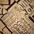 タイポグラフィ Androidスマホ用壁紙