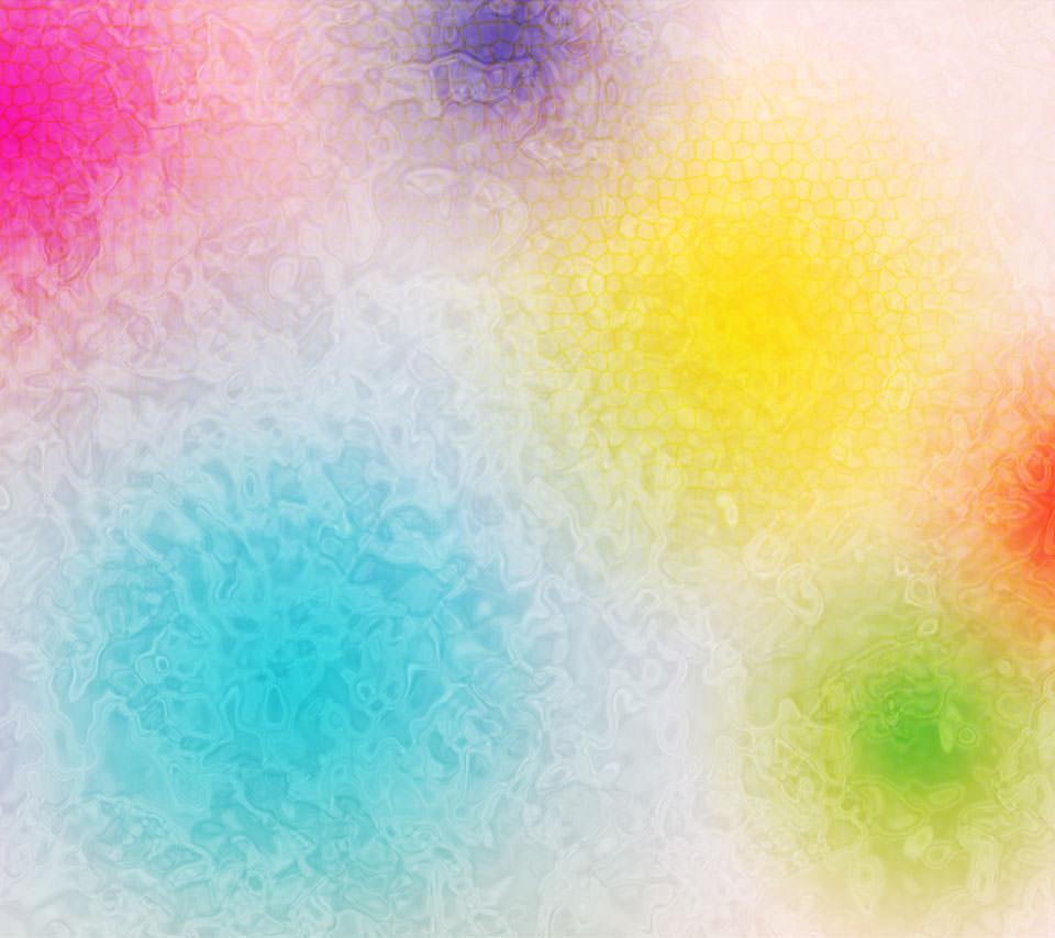 カラードロップ Androidスマホ用壁紙