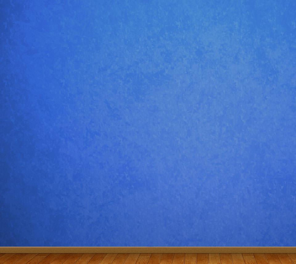 青い部屋 Androidスマホ用壁紙