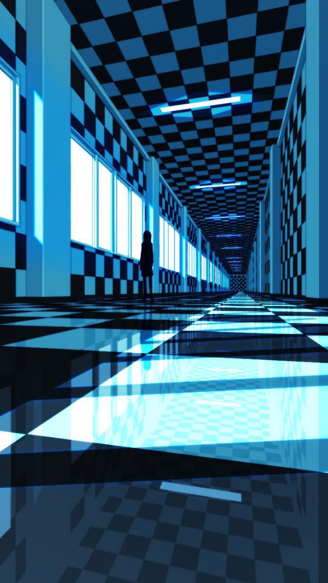 鏡面世界 iPhone5 スマホ用壁紙