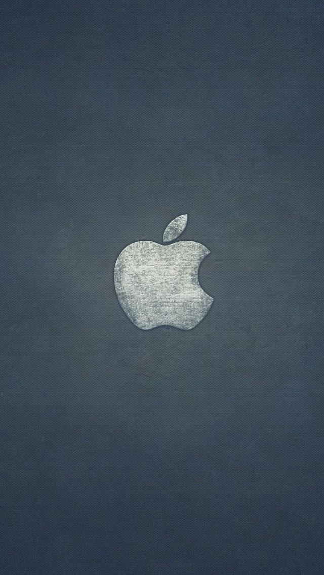 デニム調のアップル iPhone5 スマホ用壁紙