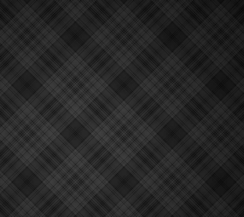 黒のタータンチェック Androidスマホ用壁紙  黒のタータンチェック Androidスマホ用