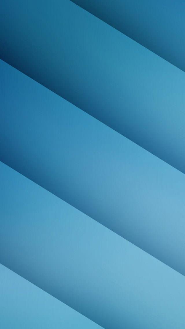 ブルーストライプ iPhone5 スマホ用壁紙