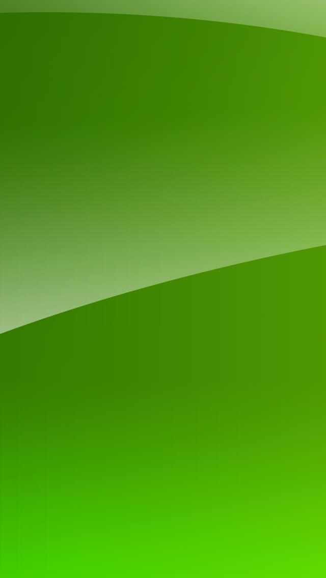 アップルグリーン iPhone5 スマホ用壁紙