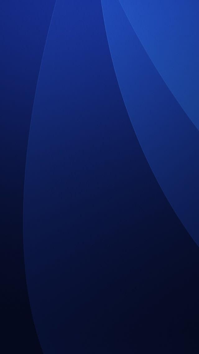 深い青  iPhone5 スマホ用壁紙