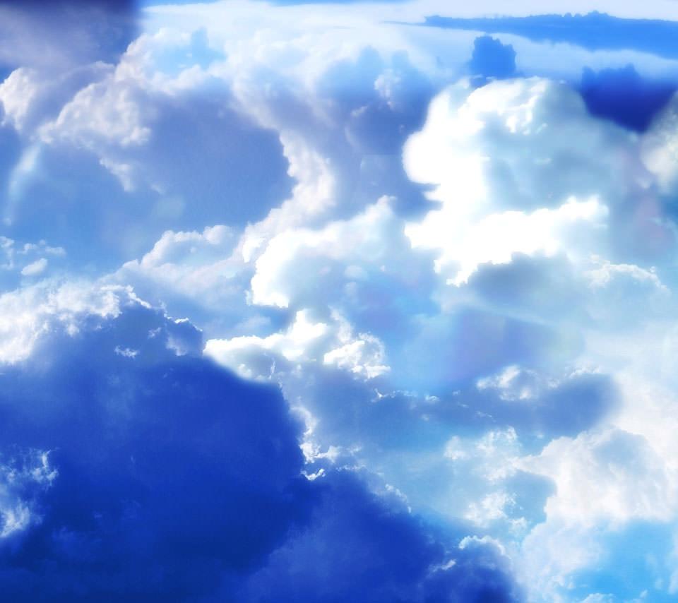 綺麗な空と雲 Androidスマホ用壁紙