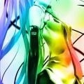 かっこいい初音ミク iPhone5 スマホ用壁紙