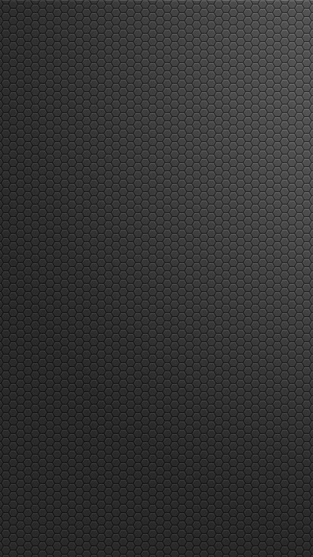 黒のヘックス iPhone5 スマホ用壁紙