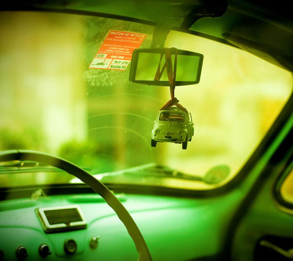 Mini Fiat Androidスマホ用壁紙
