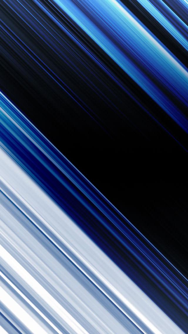 BLUE LINE iPhone5 スマホ用壁紙