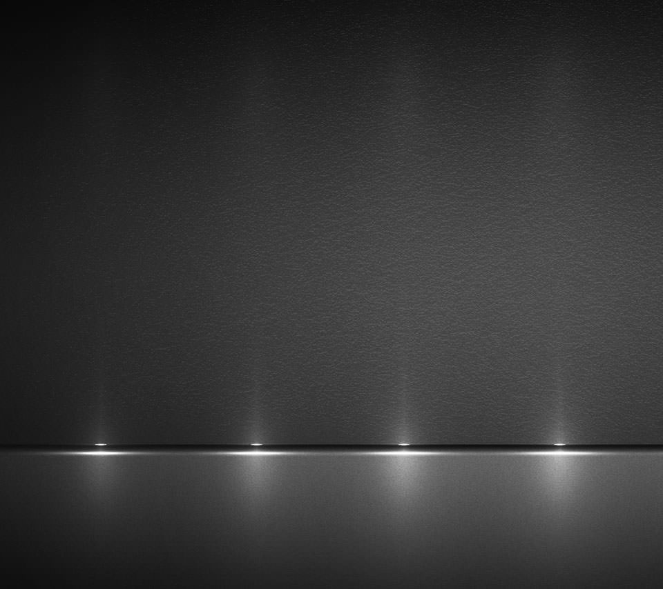 ライトアップされた黒のAndroidスマホ用壁紙