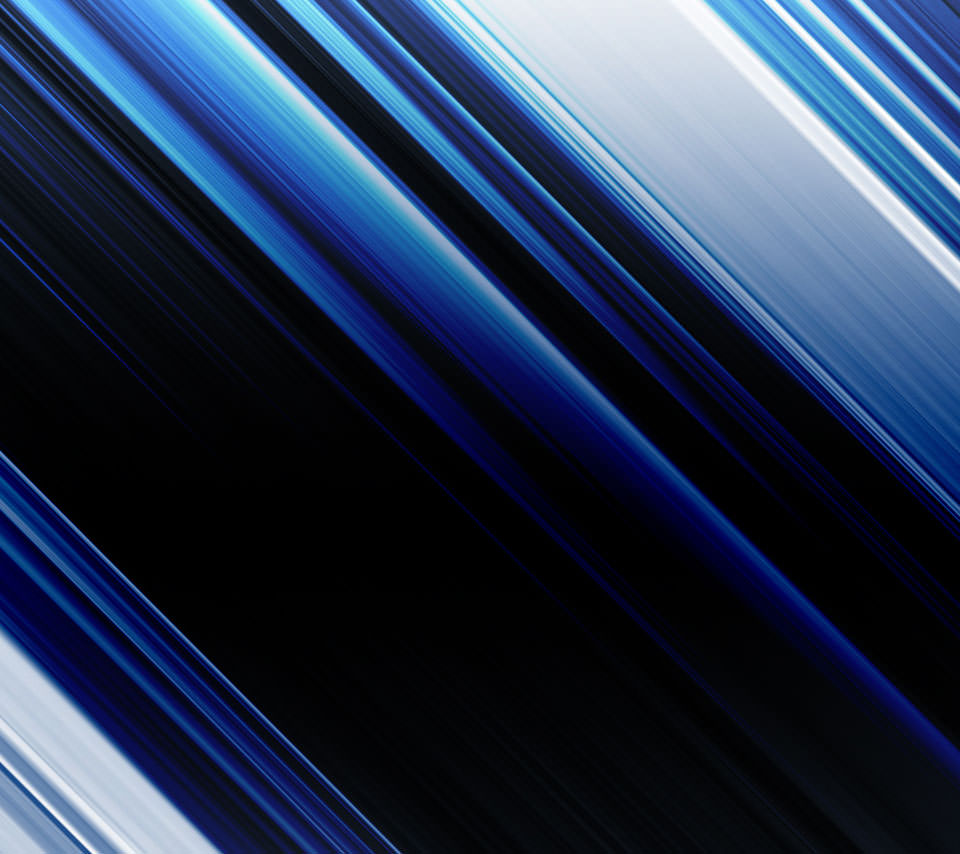 オシャレな青のストライプ Androidスマホ用壁紙