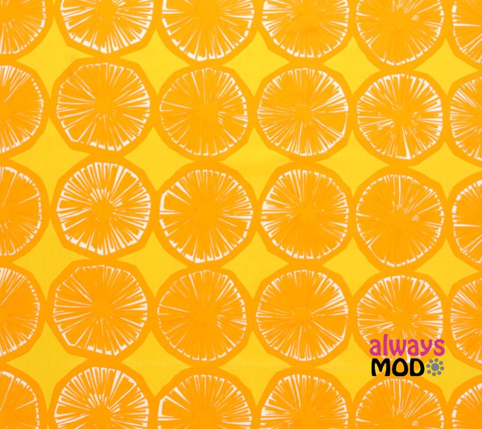 オレンジ  / マリメッコ Androidスマホ用壁紙