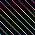 虹色のボーダー Androidスマホ用壁紙