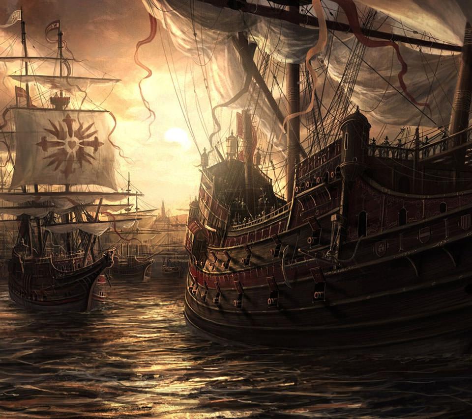 カリブの海賊 Androidスマホ壁紙