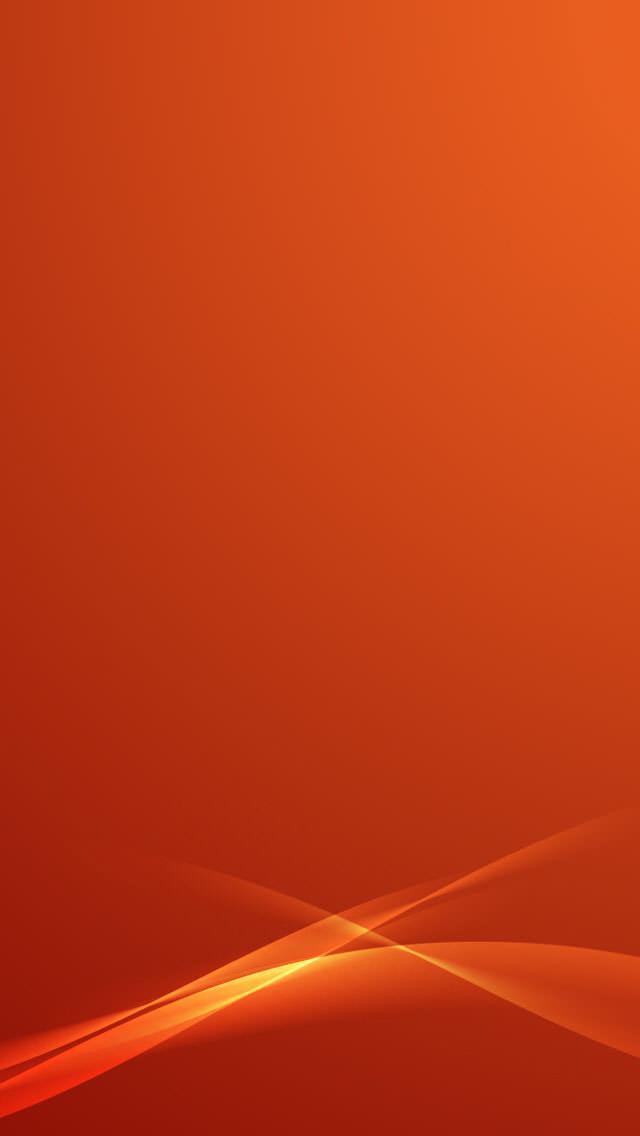 Beautifule Orange iPhone5 スマホ用壁紙