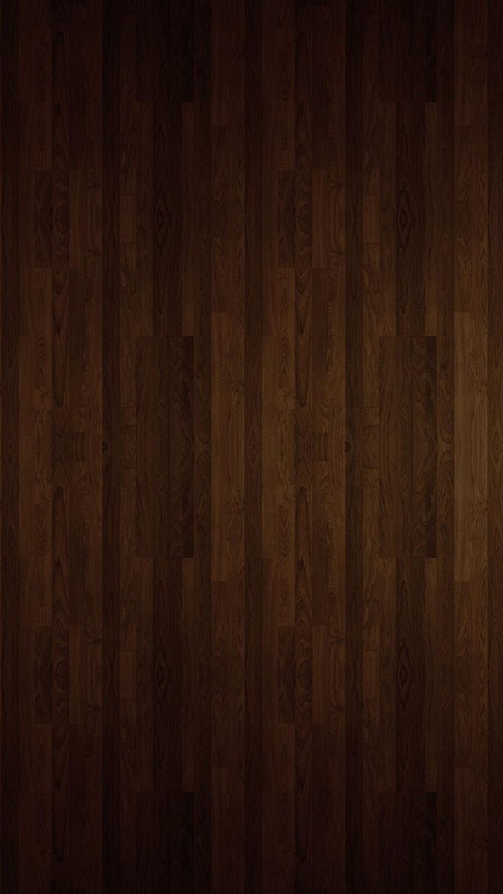 濃い茶色の木目調 Androidスマホ壁紙
