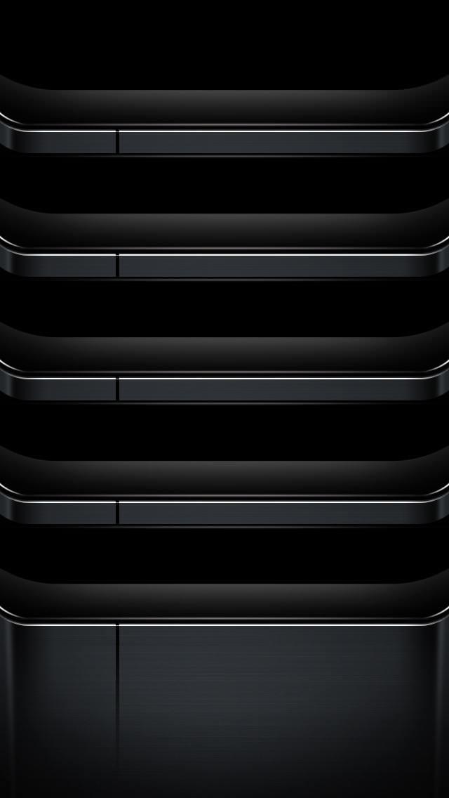 ブラックベース iPhone5 スマホ用壁紙