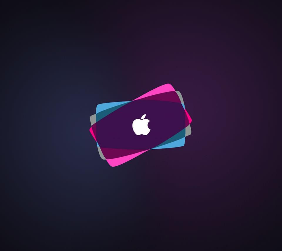 落ち着いたアップルロゴ Androidスマホ壁紙 Wallpaperbox