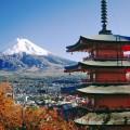 富士山と五重の塔 Androidスマホ用壁紙