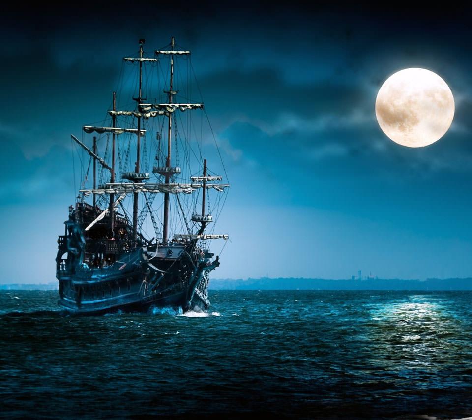 スペインの海賊船 Androidスマホ壁紙 Wallpaperbox