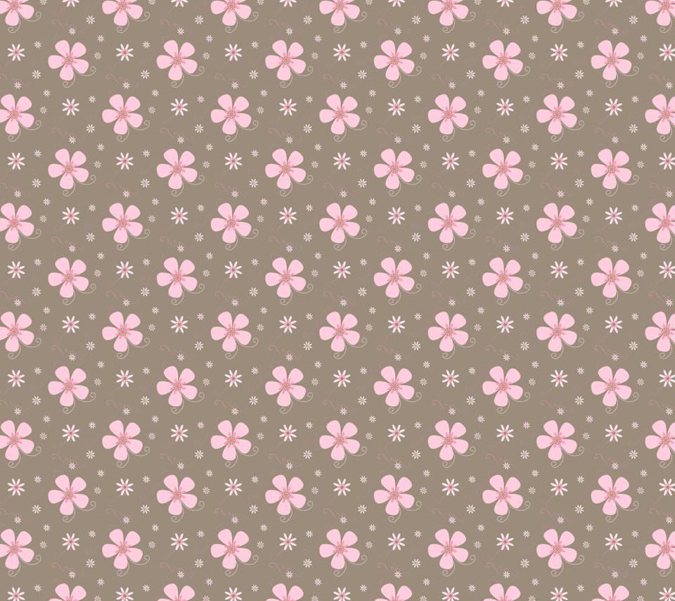 花のイラスト androidスマホ壁紙 | wallpaperbox