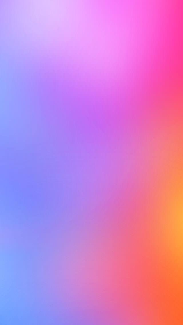 淡いピンクのグラデーション iPhone5 スマホ用壁紙