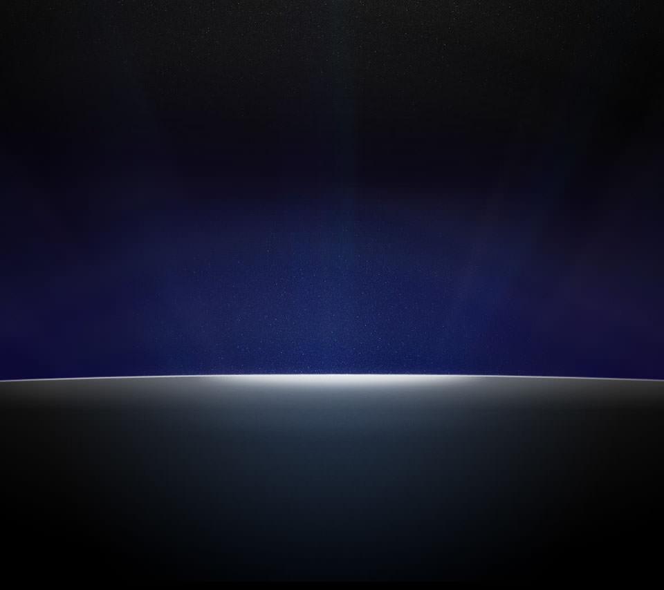 シンプルな青のAndroidスマホ壁紙